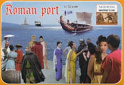 Linear-B 1/72nd Ancient Roman Port Plastic Figures Set 002