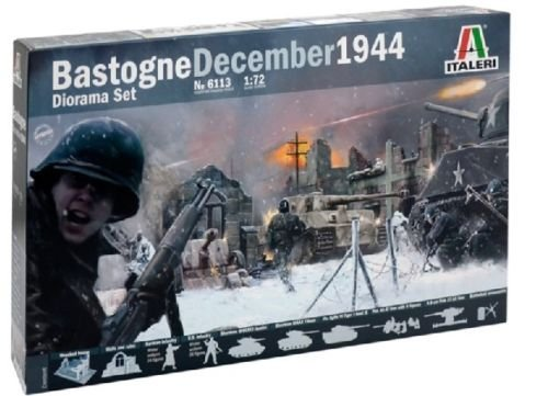Image 0 of Italeri 1/72 Battle of Bastogne Dec.1944 Diorama Set 6113