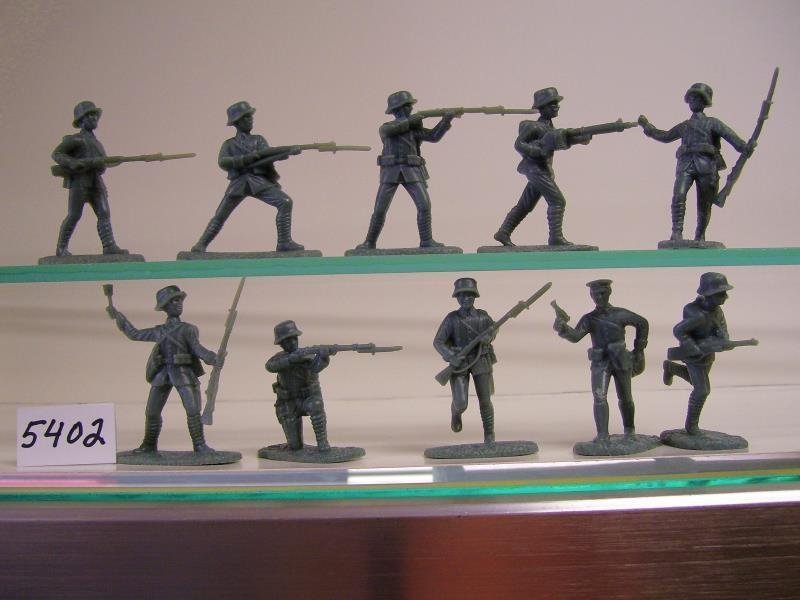 Image 1 of AIP 1/32 Battlefield Combo Series World War I Plastic Figures Set 5661