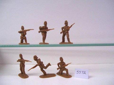 Image 1 of AIP 1/32 Battlefield Combo Series Zulu War Plastic Figures Set 5664
