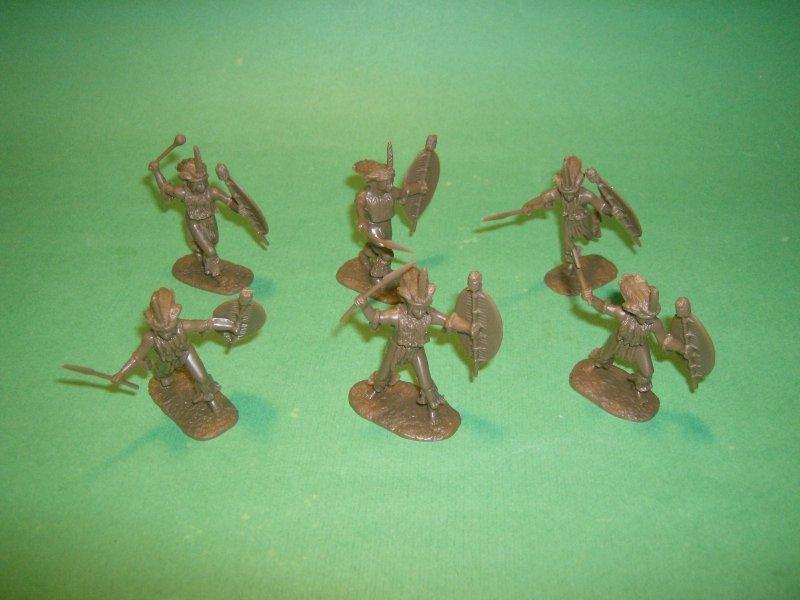 Image 2 of AIP 1/32 Battlefield Combo Series Zulu War Plastic Figures Set 5664