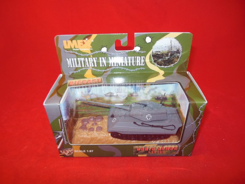 Image 0 of Imex Military In Miniature Diecast 1/87th Scale WWII King Tiger Tank 871002
