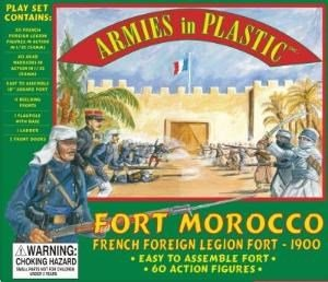 Image 0 of Armies In Plastic 1/32nd Scale Fort Morocco French Foreign Legion Fort Playset