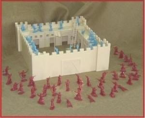 Image 1 of Armies In Plastic 1/32nd Scale Fort Morocco French Foreign Legion Fort Playset