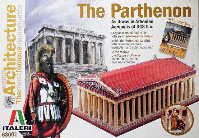 Image 0 of Italeri The Parthenon, Athenian Acropolis 348BC Easy Assembly Model Kit