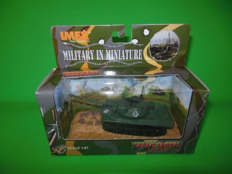 Image 0 of Imex Military In Miniature Diecast 1/87th Scale German Leopard Tank 871003