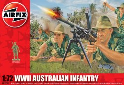 Airfix 1/72nd Scale WWII Australian Infantry Figures Set