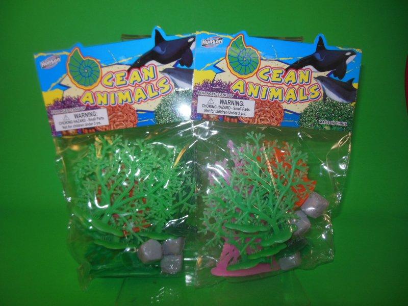 Image 0 of Ocean Science Fiction Plastic Diorama Scenery Set 2 Pack 39784