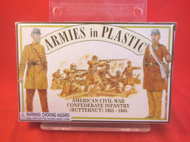 Image 0 of Armies In Plastic 1/32 Scale American Civil War Confederate Infantry 5461