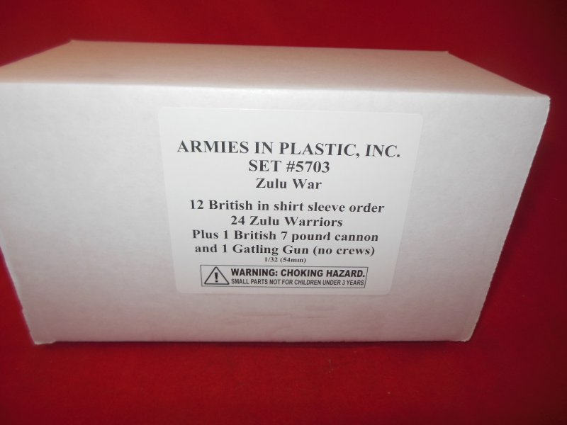 Image 0 of Armies In Plastic 1/32nd Zulu War 5703 36 Figures & More Set