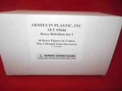 Armies In Plastic 1/32nd Boxer Rebellion Set #1 Chinese Boxers And More 5646