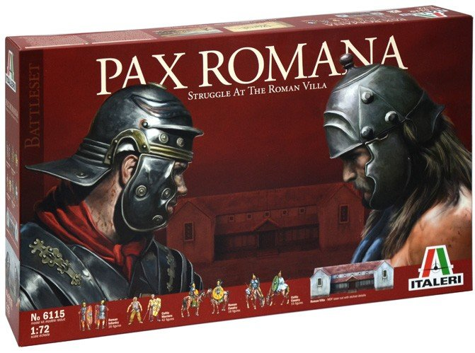 Image 0 of Italeri 1/72nd Scale Pax Romana Struggle At The Villa Battle Diorama Set 6115
