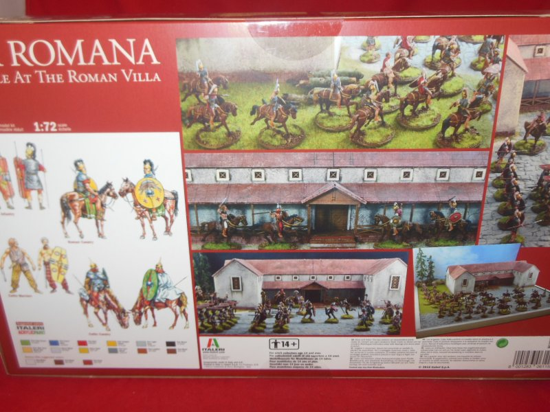 Image 1 of Italeri 1/72nd Scale Pax Romana Struggle At The Villa Battle Diorama Set 6115