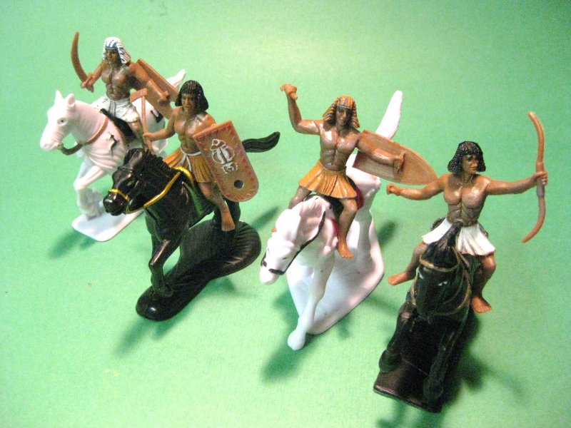 Mounted Figures