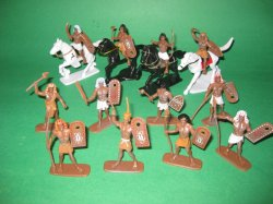 Ancient Egyptian 16 Piece Plastic Warriors Set No 40