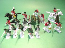 Napoleonic Russian Infantry Plastic Soldiers Set
