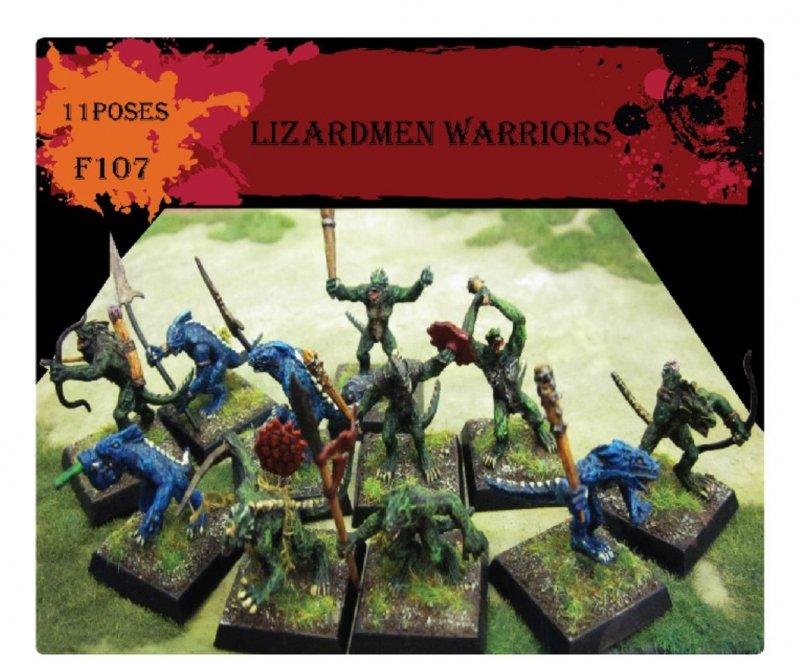 Image 0 of Caesar Miniatures 1/72nd scale Lizardmen Plastic Figures Set