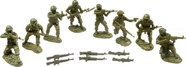 Image 0 of TSSD 1/32nd Scale Plastic Vietnam U.S Marines Figures Set 29