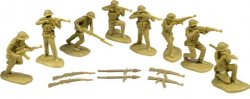 TSSD 1/32nd Scale Plastic Vietnam North Vietnamese Army Figures Set 30
