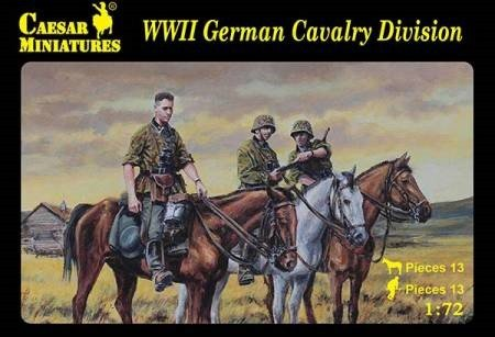 Image 0 of Caesar Miniatures 1/72 WWII German Cavalry Division Soldiers Set 92