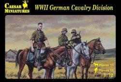 Caesar Miniatures 1/72 WWII German Cavalry Division Soldiers Set 92