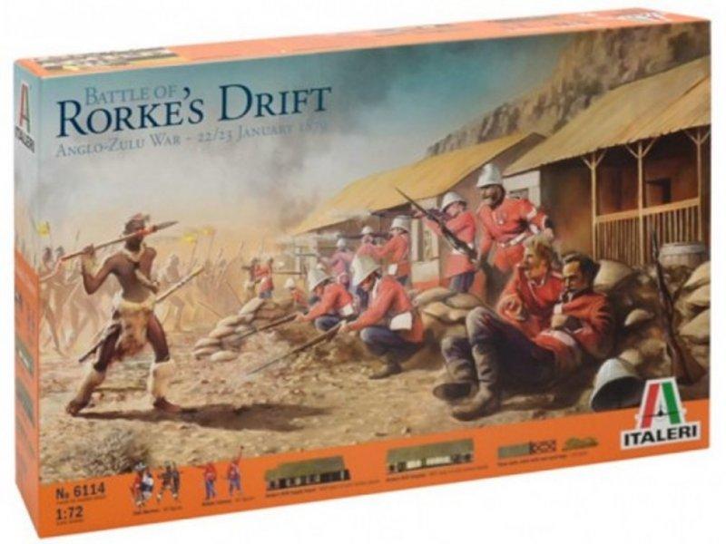 Image 0 of Italeri 1/72nd Battle Of Roarke's Drift Anglo-Zulu War 1879 Diorama Set 6114