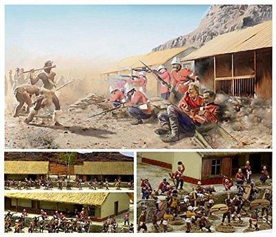 Image 1 of Italeri 1/72nd Battle Of Roarke's Drift Anglo-Zulu War 1879 Diorama Set 6114
