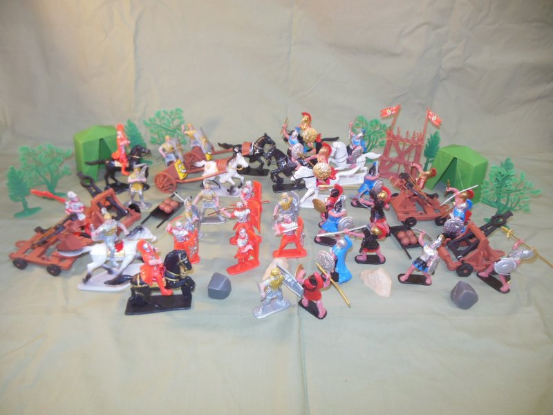Image 0 of TSD Ancients Battle Of Corinth 146 BC Limited Edition Playset