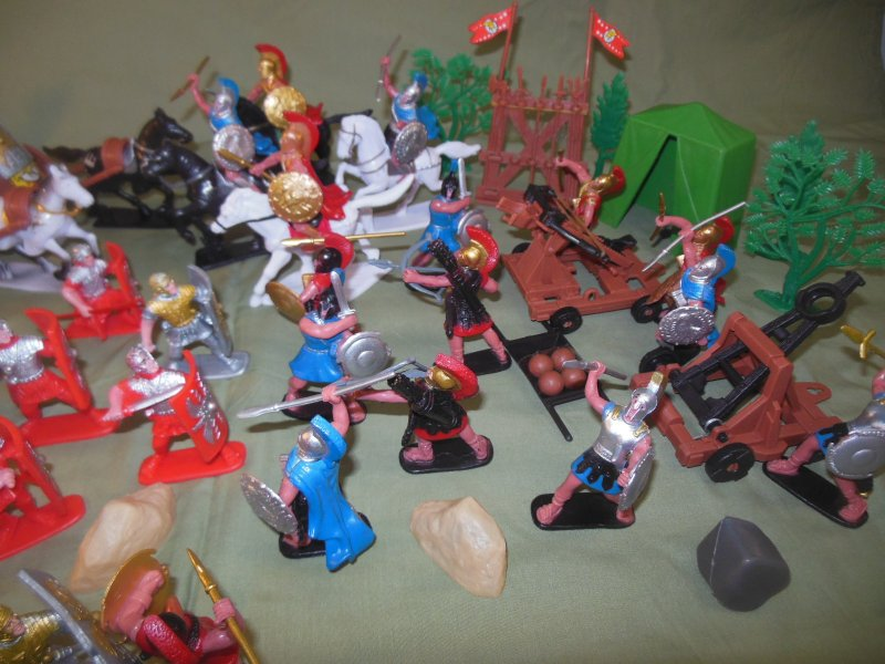Image 1 of TSD Ancients Battle Of Corinth 146 BC Limited Edition Playset