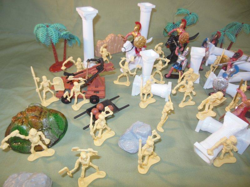 Image 1 of TSD Mythical Jason And The Argonauts Skeleton Battle Limited Edition Playset