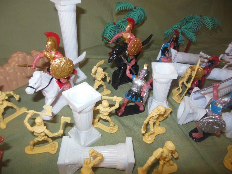 Image 4 of TSD Mythical Jason And The Argonauts Skeleton Battle Limited Edition Playset