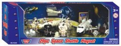 Motor Max Space Shuttle Moon Exploration Diecast Metal Plastic Playset