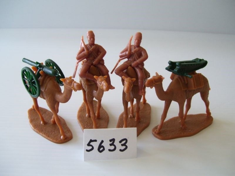 Image 3 of  Armies In Plastic-1/32th Egyptian Camel Corps Deluxe Set 5719