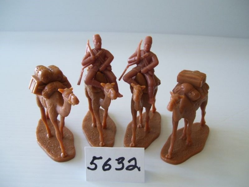 Image 4 of  Armies In Plastic-1/32th Egyptian Camel Corps Deluxe Set 5719