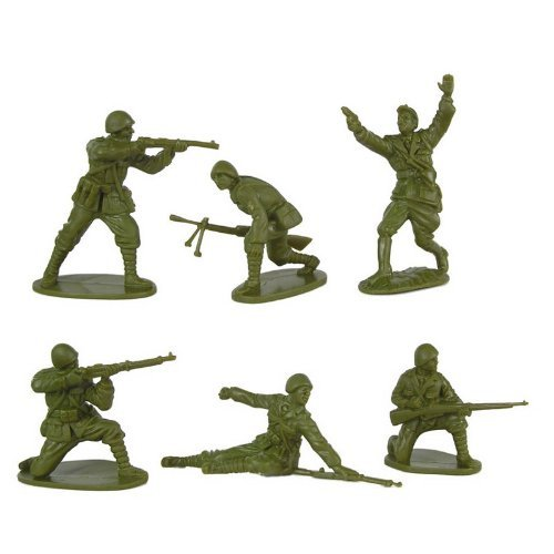 Image 0 of CTS 1/32nd Scale World War II Romanian Infantry Plastic Soldiers Set