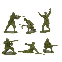 CTS 1/32nd Scale World War II Romanian Infantry Plastic Soldiers Set