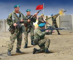 Revell 1/72 Soviet Spetsnaz Special Forces 1980 Soldiers Set 2533