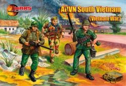 Mars 1/32nd Scale Vietnam War AVRN South Vietnamese Soldiers Set 32009
