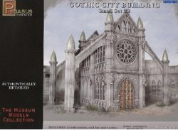 Pegasus Models 28mm Gothic City Building Small Set 2 4925 Plastic Model Kit
