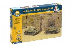 Italeri 1/72nd Scale WWII German Sd. Kfz. 161 Panzer IV Fast Model Kit 7514