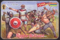 Strelets 1/72nd Scale Plastic Medieval Anglo Saxons Figures Set 0016