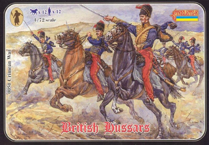Image 0 of Strelets 1/72nd Scale Plastic Crimean War British Hussars Set 0050