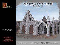 Pegasus Models 28mm Gothic City Building Small Set 1 4924 Plastic Model Kit