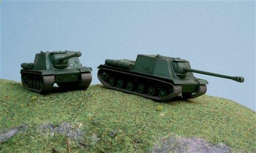 Image 0 of Italeri 1/72nd Scale M3A1 WWII Russian Isu-122 Tank Fast Model Kit 7503