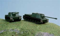 Italeri 1/72nd Scale M3A1 WWII Russian Isu-122 Tank Fast Model Kit 7503