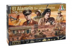 Italeri 1/72nd WWII Battle Of El Alamein Diorama Playset 6181