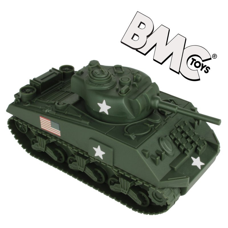 Image 1 of BMC 1/32nd Scale WWII US Sherman Tank And TSSD American Soldiers Bundle