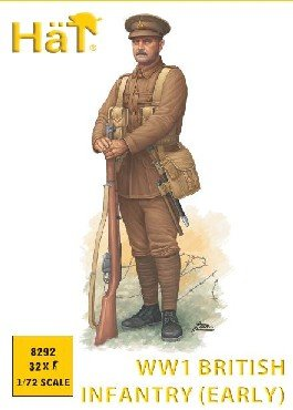 Image 0 of HAT 1/72 WWI British Infantry Early Issue Uniform Set 8292