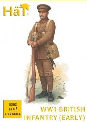 HAT 1/72 WWI British Infantry Early Issue Uniform Set 8292