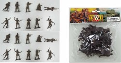 World War II 1/32nd Scale Plastic Russian Soldiers Set PYS-48